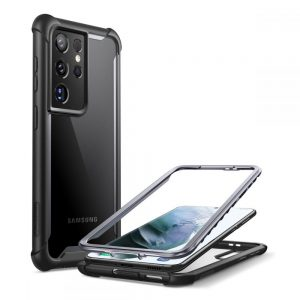 S21 Ultra - Supcase Iblsn Ares Galaxy S21 Ultra Black - 1 - krytaren.sk