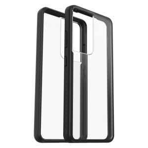 S21 Ultra - OtterBox React Samsung Galaxy S21 Ultra 5G (clear black) - 1 - krytaren.sk