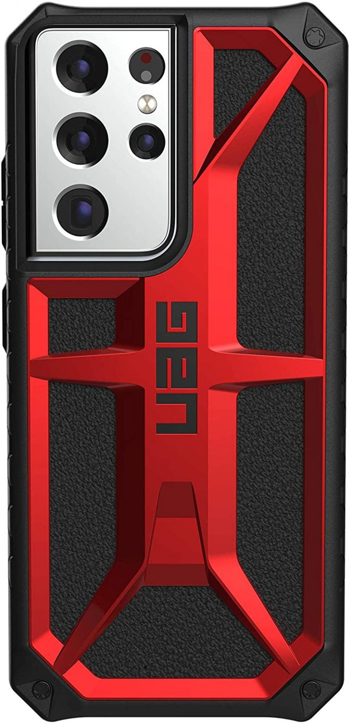 s21 ultra - uag monarch samsung galaxy s21 ultra 5g (crimson) - 3 - krytaren.sk