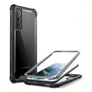 S21 Plus - Supcase Iblsn Ares Galaxy S21+ Plus Black - 1 - krytaren.sk