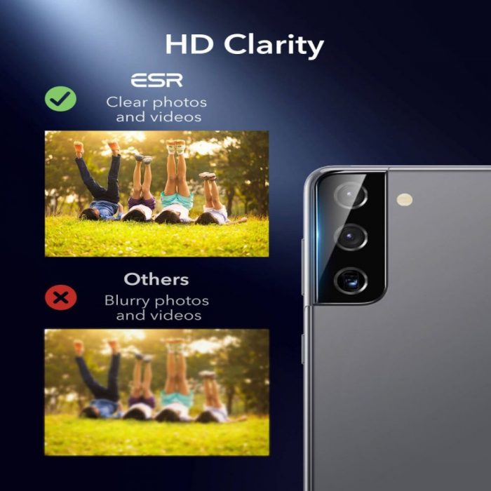 s21 plus - esr camera lens samsung galaxy s21+ plus [2 pack] - 6 - krytaren.sk