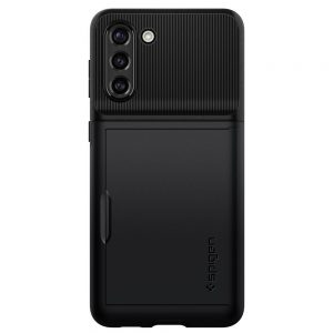 S21 Plus - Spigen Slim Armor Cs Galaxy S21+ Plus Black - 2 - krytaren.sk