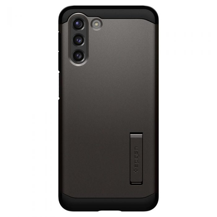 s21 plus - spigen tough armor galaxy s21+ plus gunmetal - 2 - krytaren.sk