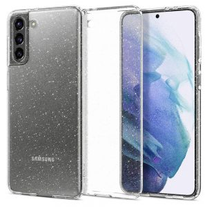 S21 Plus - Spigen Liquid Crystal Galaxy S21+ Plus Glitter Crystal - 1 - krytaren.sk