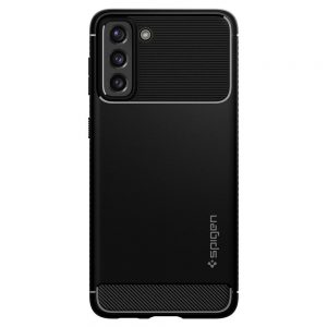 S21 Plus - Spigen Rugged Armor Galaxy S21+ Plus Matte Black - 2 - krytaren.sk