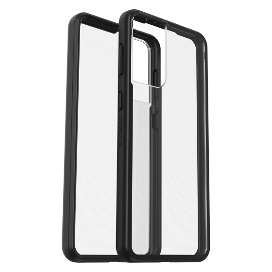 s21 plus - otterbox react samsung galaxy s21+ 5g (clear black) - 1 - krytaren.sk