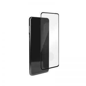 S21 - PURO Frame Tempered Glass Samsung Galaxy S21 (black) - 1 - krytaren.sk