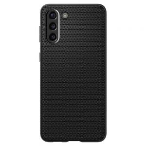 S21 - Spigen Liquid Air Galaxy S21 Matte Black - 2 - krytaren.sk