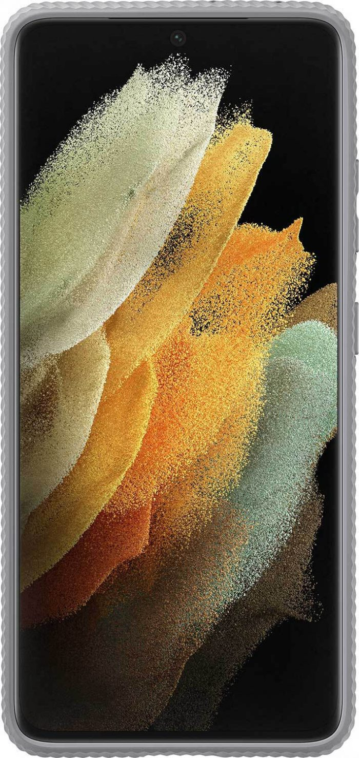 s21 ultra - samsung galaxy s21 ultra ef-rg998cj light gray protective standing cover - 2 - krytaren.sk