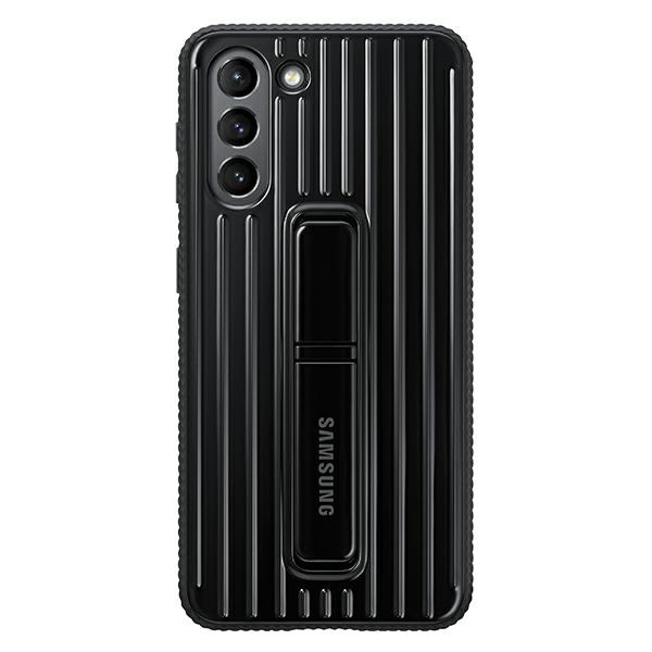 s21 plus - samsung galaxy s21+ plus ef-rg996cb black protective standing cover - 1 - krytaren.sk
