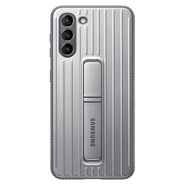 s21 plus - samsung galaxy s21+ plus ef-rg996cj light gray protective standing cover - 1 - krytaren.sk