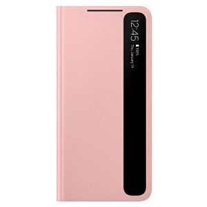 S21 Plus - Samsung Galaxy S21+ Plus EF-ZG996CP pink Clear View Cover - 1 - krytaren.sk