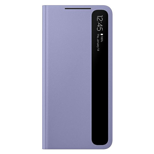 s21 plus - samsung galaxy s21+ plus ef-zg996cv violet clear view cover - 1 - krytaren.sk