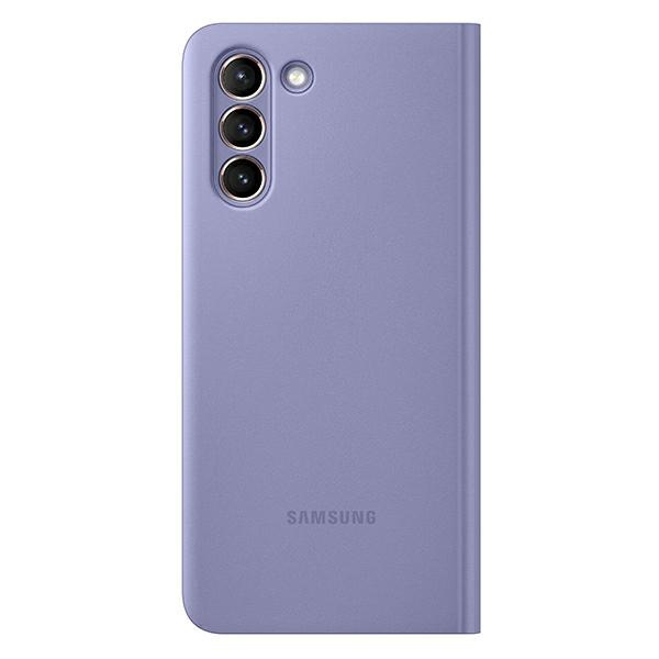 s21 plus - samsung galaxy s21+ plus ef-zg996cv violet clear view cover - 3 - krytaren.sk
