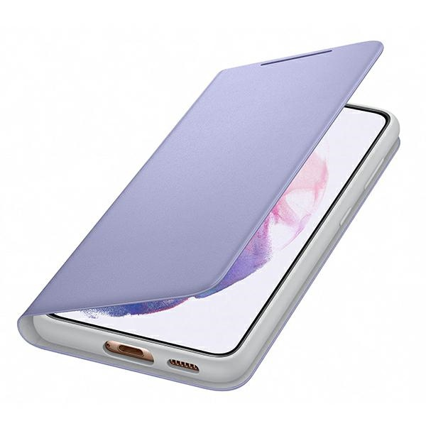 s21 - samsung galaxy s21 ef-ng991pv violet led view cover - 4 - krytaren.sk