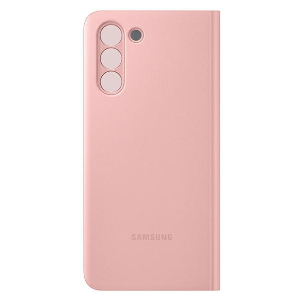 s21 - samsung galaxy s21 ef-zg991cp pink clear view cover - 2 - krytaren.sk