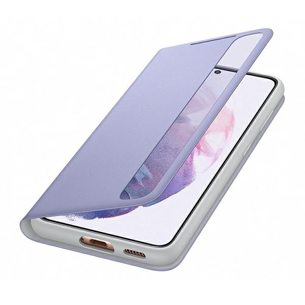 s21 - samsung galaxy s21 ef-zg991cv violet clear view cover - 5 - krytaren.sk