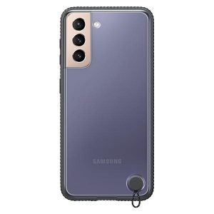 S21 - Samsung Galaxy S21 EF-GG991CB black Clear Protective Cover - 1 - krytaren.sk