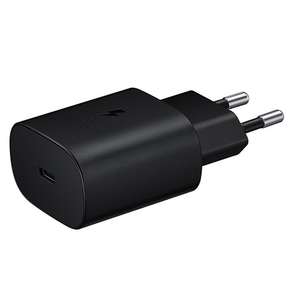 wall chargers - samsung charger ep-ta800xb pd 25w c to c cable black - 4 - krytaren.sk