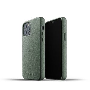 iPhone 12 Pro - Mujjo Full Leather Case Apple iPhone 12/12 Pro (green) - 1 - krytaren.sk