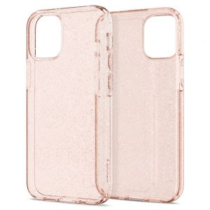 iPhone 12 mini - Spigen Liquid Crystal Apple iPhone 12 mini Glitter Rose - 2 - krytaren.sk