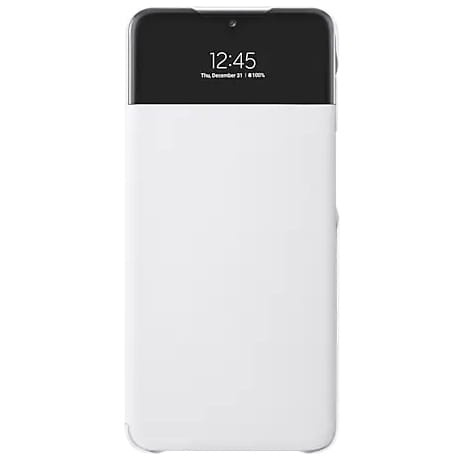 more a series - samsung galaxy a32 5g ef-ea326pw white s view wallet cover - 1 - krytaren.sk