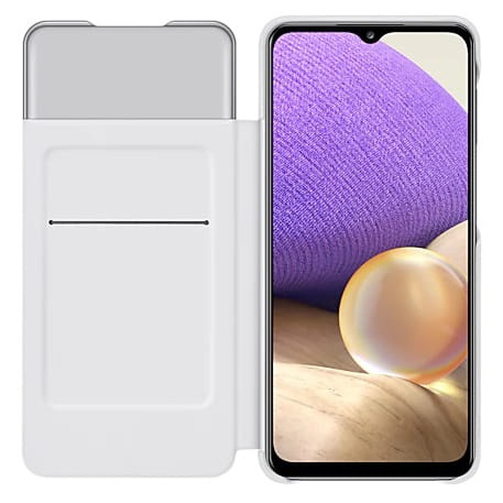 more a series - samsung galaxy a32 5g ef-ea326pw white s view wallet cover - 3 - krytaren.sk