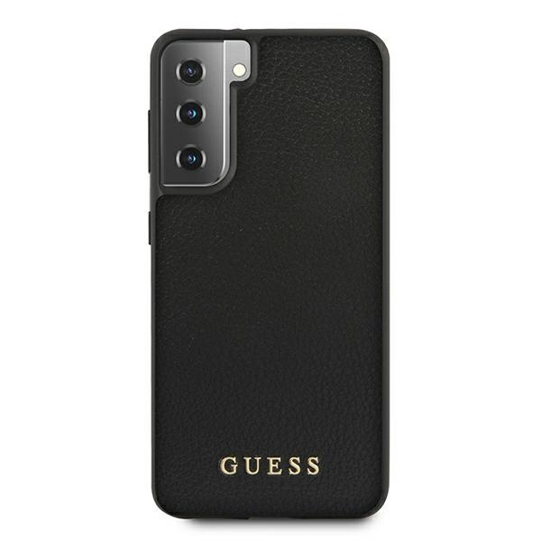 s21 plus - guess guhcs21miglbk samsung galaxy s21+ plus black hard case iridescent - 3 - krytaren.sk