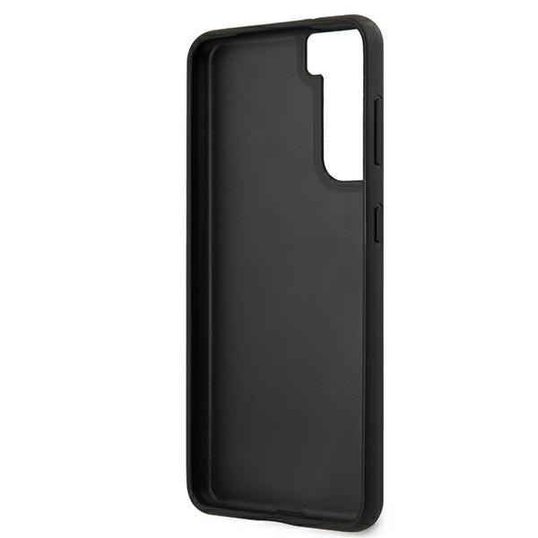 s21 plus - guess guhcs21miglbk samsung galaxy s21+ plus black hard case iridescent - 7 - krytaren.sk
