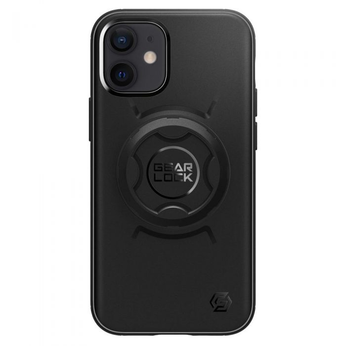 iphone 12 pro max - spigen gearlock gcf131 bike mount case apple iphone 12 pro max black - 6 - krytaren.sk