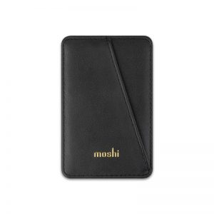 Other accessories - Moshi Slim Wallet (System SnapTo™) (Jet Black) - 1 - krytaren.sk