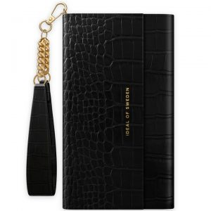 iPhone 12 mini - iDeal of Sweden Clutch Apple iPhone 12 mini (Jet Black Croco) - 1 - krytaren.sk