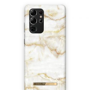 S21 Ultra - iDeal of Sweden Fashion Samsung Galaxy S21 Ultra (Golden Pearl Marble) - 1 - krytaren.sk