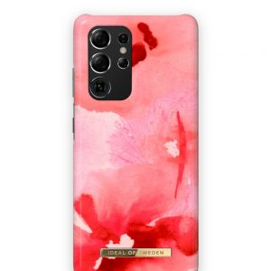 S21 Ultra - iDeal of Sweden Fashion Samsung Galaxy S21 Ultra (Coral Blush Floral) - 1 - krytaren.sk