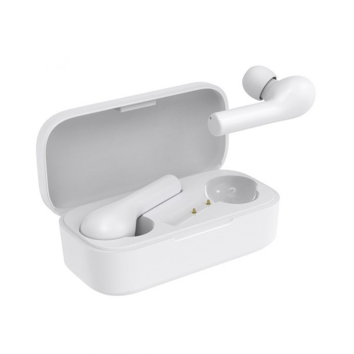 audio - qcy t5 tws wireless earphones bluetooth 5.0 (white) - 2 - krytaren.sk