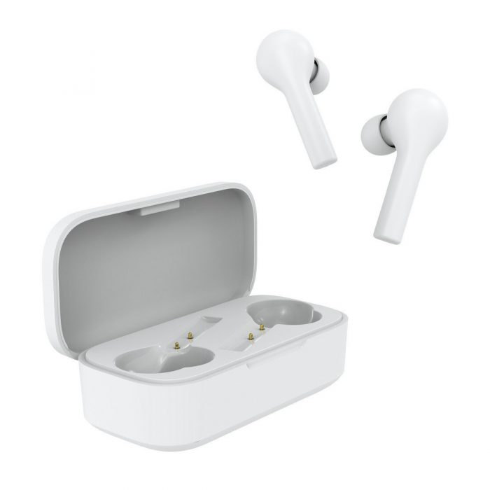 audio - qcy t5 tws wireless earphones bluetooth 5.0 (white) - 4 - krytaren.sk