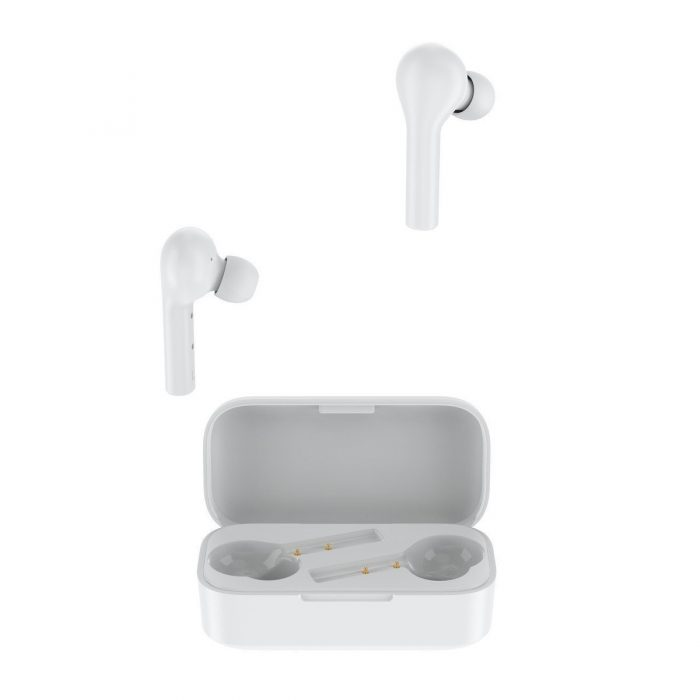 audio - qcy t5 tws wireless earphones bluetooth 5.0 (white) - 6 - krytaren.sk