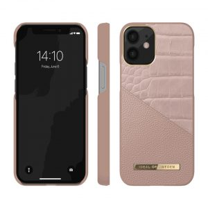 iPhone 12 Pro - iDeal of Sweden Apple iPhone 12/12 Pro (Rose Smoke Croco) - 2 - krytaren.sk
