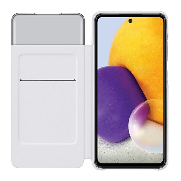 a72 5g - samsung galaxy a72 5g ef-ea725pw white s view wallet cover - 3 - krytaren.sk