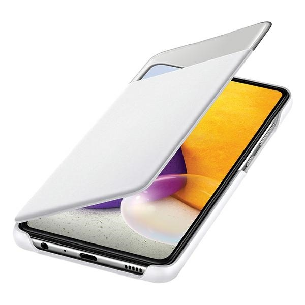 a72 5g - samsung galaxy a72 5g ef-ea725pw white s view wallet cover - 4 - krytaren.sk