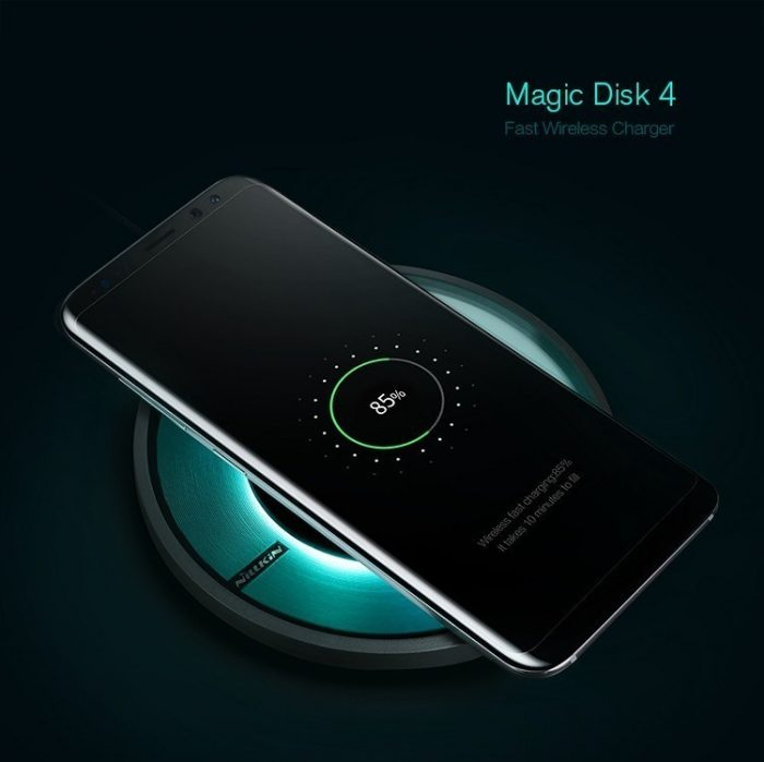 wireless chargers - nillkin magic disk 4 fast qi wireless charger - 2 - krytaren.sk