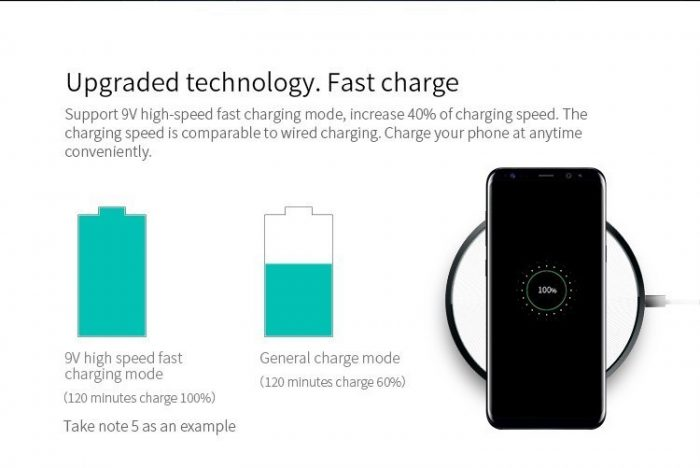 wireless chargers - nillkin magic disk 4 fast qi wireless charger - 5 - krytaren.sk