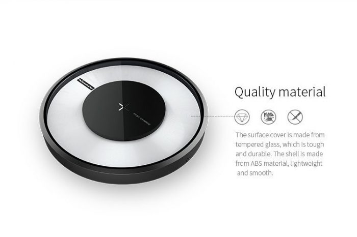 nillkin magic disk 4 fast qi wireless charger - export 3118