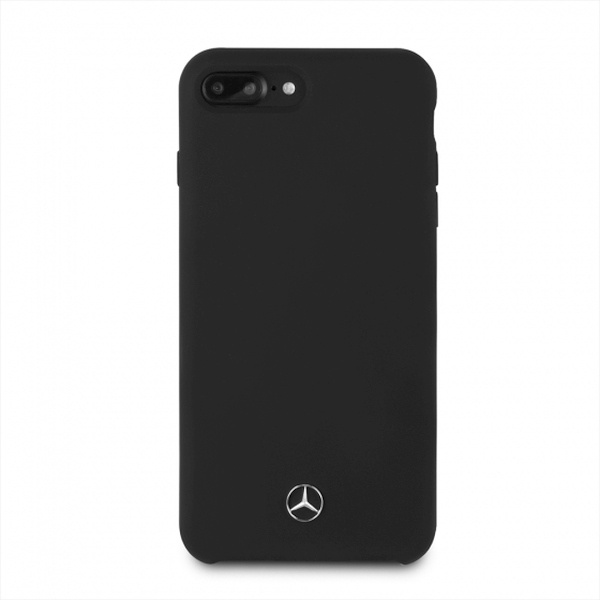 iphone 8 plus - mercedes mehci8lsilbk apple iphone 8/7 plus hardcase black slicone line - 2 - krytaren.sk