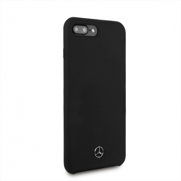iphone 8 plus - mercedes mehci8lsilbk apple iphone 8/7 plus hardcase black slicone line - 3 - krytaren.sk