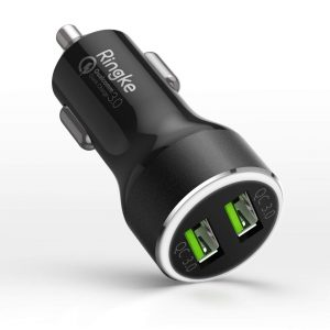 Cables - Ringke RealX2 2x Quick Charge 3.0 Black - 1 - krytaren.sk