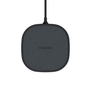 Wireless chargers - Mophie Wireless Charging Pad Fast Charge 15W (black) - 1 - krytaren.sk