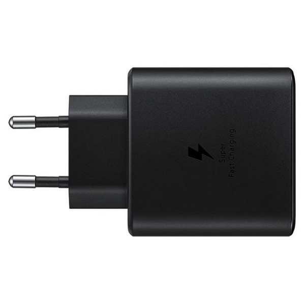wall chargers - samsung charger ep-ta845xb pd 45w c to c cable super fast charge black - 2 - krytaren.sk