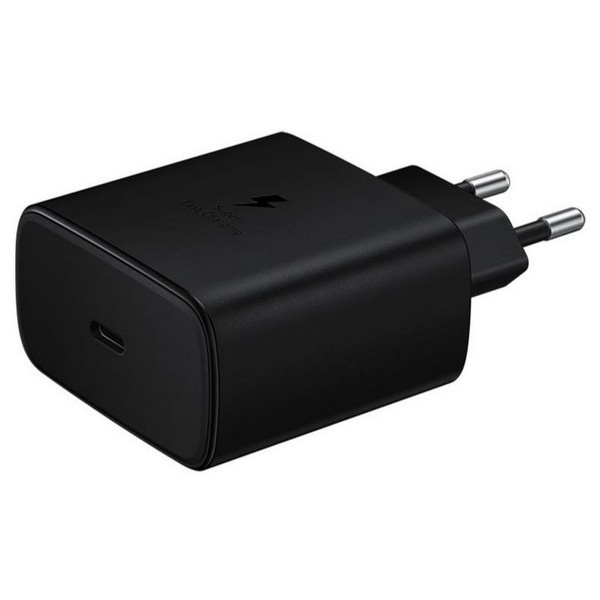 wall chargers - samsung charger ep-ta845xb pd 45w c to c cable super fast charge black - 3 - krytaren.sk