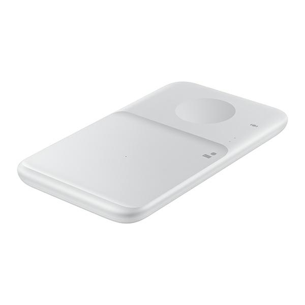 wireless chargers - samsung duo wireless charger ep-p4300tw white - 2 - krytaren.sk